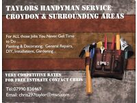 Affordable handyman services Things dont have time to do !! Call Chris day or evening