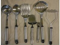 Metal Utensils -5 pieces