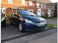 Peugeot 307 1.6 HDI diesel estate long MOT