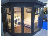 Summerhouses + Studios+Garden Buildings-Malvern-Exdisplay-HUGE DISCOUNT-FREE DELIVERY + installation
