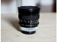 Canon FD 24mm f1.4 SSC Aspherical Wide Angle MF Prime Lens - Rare