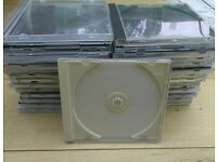 29 CD jewel cases Used not perfect but usable