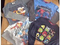 Boys Long Sleeve Tops Bundle - all Next - age 8yrs