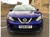 2014 NISSAN QASHQAI ACENTA PREMIUM 1.5 DCI - LIKE NEW, 1 OWNER, ONLY 8K MILES, FSH, TOP SPEC