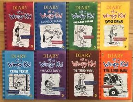 Diary of a Wimpy Kid collection- Perfect condition