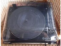 ION PROFILE USB TURNTABLE / RECORD PLAYER.