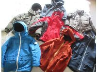 Boys jackets age 5-6yrs bundle -£20 includes Regatta