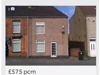2 bedroom fully refurbished house to rent