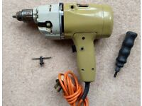 Black and Decker DNJ264 two speed 240V Hammer Drill 10mm chuck, in good condition
