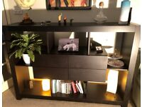 ILVA Danish living room furniture: Wall unit & Side Table