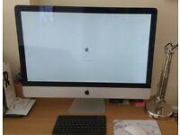 Apple iMac 27 inch, 2011, 2.7GHz i5 - 4GB DDR3 - 1TB - Graphics AMD Radeon HD 5 IN GREAT CONDITION