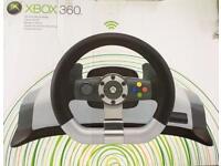Microsoft X-Box 360 Wireless Steering Wheel
