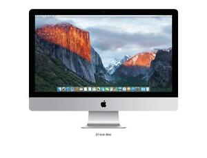 Apple IMAC 27 inch inte core  i5 /16G/1tb a 899$ Wow