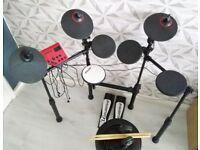 Carlsbro CSD100 Electronic Drum Kit Bundle