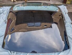 Hard top car roof for MGF, black, mint condition, with heated rear screen.