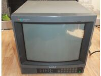 SONY Pvm-1442QM 14inch Colour Broadcast monitor