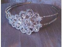 bridal/bridesmaid/prom diamante tiara/head band