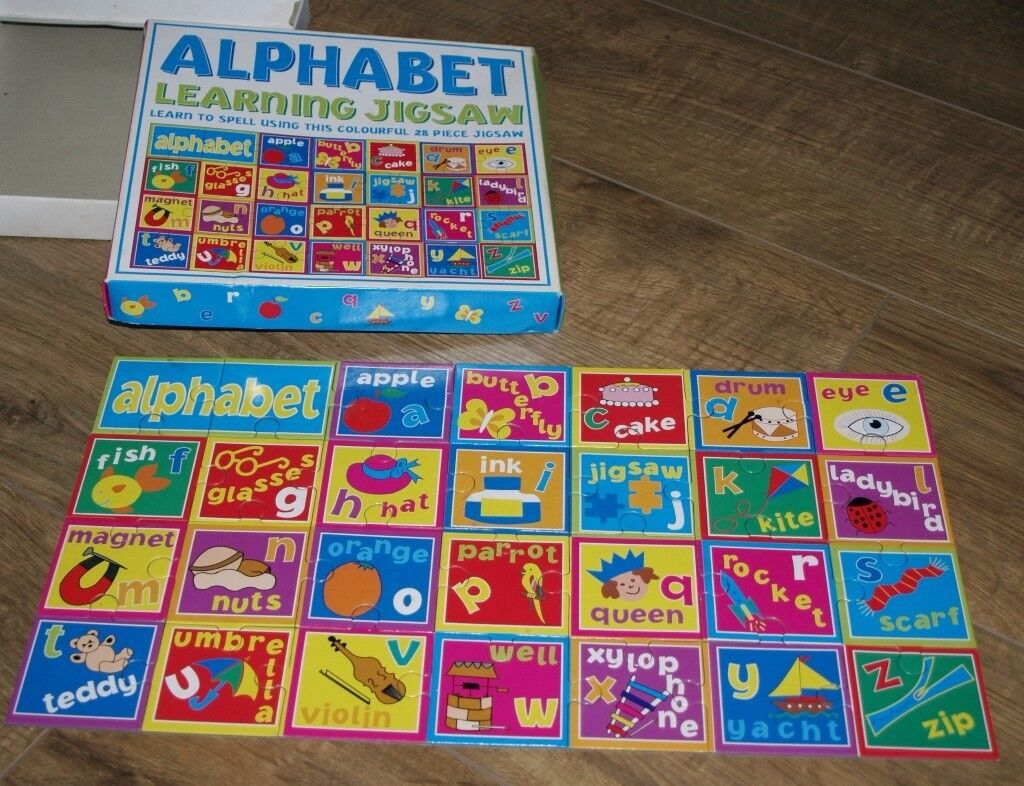 28 Piece Alphabet Learning Jigsaw Puzzle