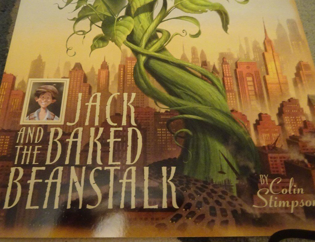 New Jack And The Baked Beanstalk children kids story book bedtime only £1 ideal xmas gift