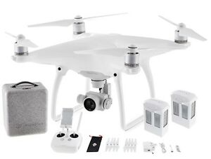 DJI PHANTOM 4 + EXTRA BATTERY. High Performance DRONE. 4K Camera. SENCE & AVOID.