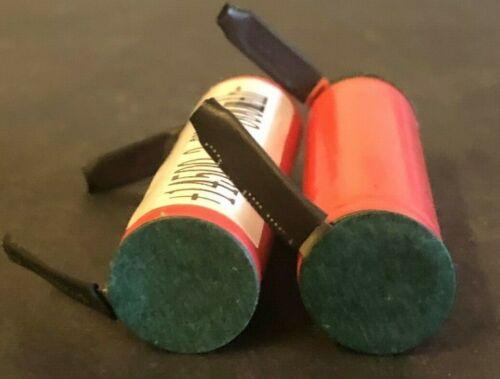 "Brand New ""2"" Sanyo UR14500P 14500 800mAh 3.7V Lithium Battery, w/ tabs"