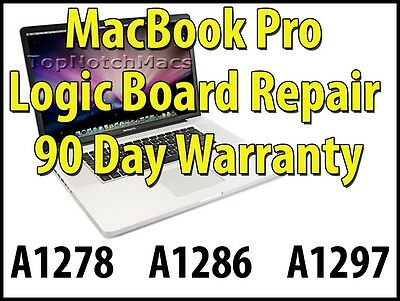 APPLE MACBOOK PRO LOGIC BOARD REPAIR A1286 A1297 2010 2011
