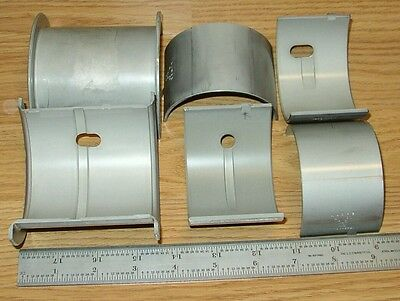 Minneapolis Moline Main Bearing Set .020 Fits Uub5starm5m602m670283pu....