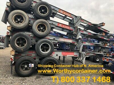 45 Chassis 45ft Shipping Container Chassis For Sale - Cargo Worthy Cw