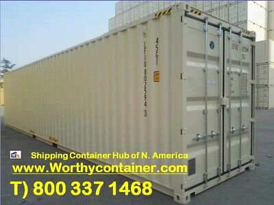 40 High Cube New Shipping Container 40ft One Trip Container Indianapolis In
