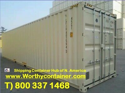 40 High Cube New Shipping Container 40ft Hc One Trip Container In Chicago Il