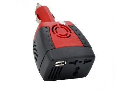 Spannungswandler 12V zu 230V 150W USB 5V Wechselrichter für Zig.Anz. (MX) 150w Usb