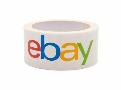 Ebay Branded Bopp Packaging Tape - 75 Yard Roll - Shipping Supplies