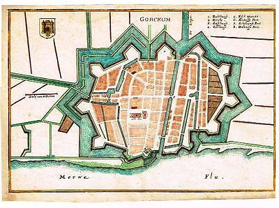 Caspar Merian Map -1659-