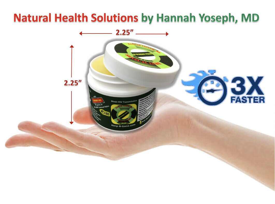 The ORIGINAL HSV1 HSV2 SL GREEN TOP: Genital Herpes Treatment Suppression 1