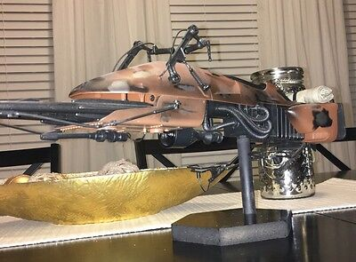 "Custom SPEEDER Bike Stand For HASBRO 1/6 24"" Biker Scout Sideshow Hot Toys"