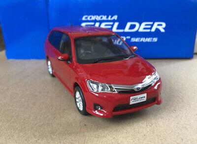 1/30 Toyota dealer version model Toyota Corolla Fielder hybrid series