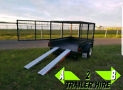 Caged box trailer hire Medowie Port Stephens Area Preview