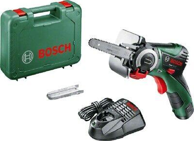 Bosch EasyCut 12 - Sierra de cadena a bateria de 12 V y 2,5Ah,