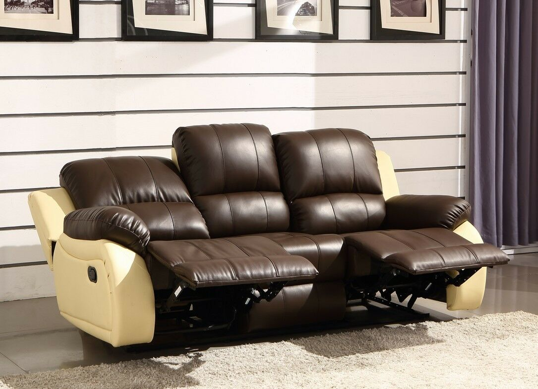 voll leder fernsehsessel relaxsofa sofa relaxsessel polsterm bel 5129 3 s sofort eur. Black Bedroom Furniture Sets. Home Design Ideas