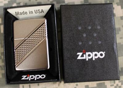 Zippo 2016 Satin Armor Facet Wrap Around Limited Edition Windproof Lighter 29151