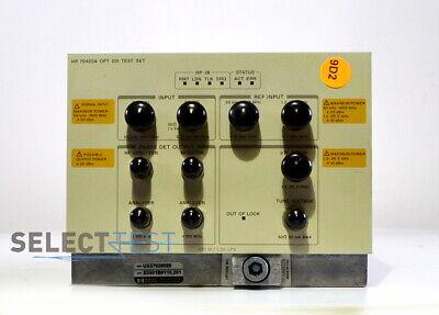 Agilent Hp 70420a Opt201 Phase Noise Test Set Module 50 Khz - 26 Ghz Ref089