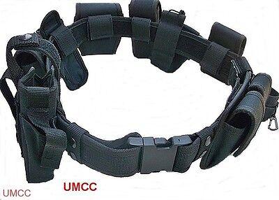 Police Officer Security Guard Law Enforcement Equipment Nylon Duty Belt Rig Gear