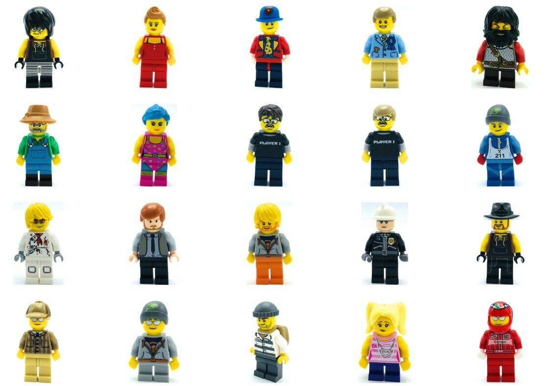 LEGO NEW MINIFIGURES YOU PICK WHAT FIGS YOU WANT SERIES TOWN