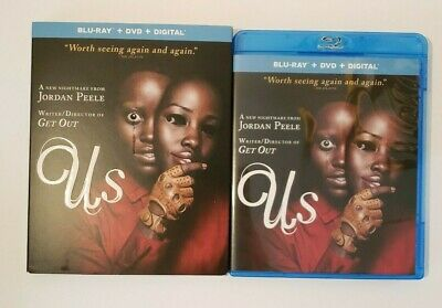 Us (2019, Blu-ray + DVD + SLIPCOVER) No Digital Included](Halloween Us Widescreen)