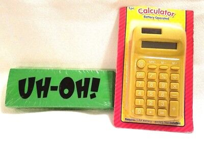 New Calculator Fun Jumbo Eraser School Supplies Office Supplies Desk Accessories
