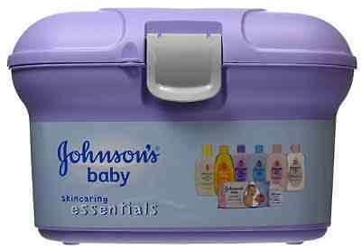 Johnsons Baby Essential Gift Set Baby's Skin Care, Bath, Shampoo, Lotion, Powder