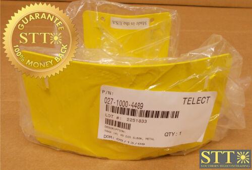 "027-1000-4489 Telect Wavetrax 4"" 45 Degree Elbow Metal New"