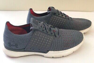 Under Armour Speedform Slingwrap Gray Shoes Sneakers Women Size 8.5! 1295755-962