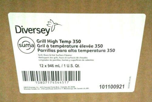 Johnson Diversey 101100921 Suma Grill D9, 32 Oz Bottle, 12/carton