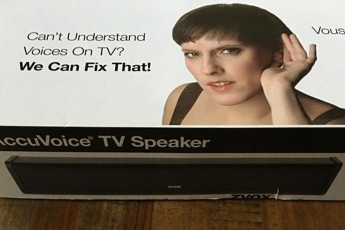 AccuVoice TV Speaker AV200 With Hearing Aid Technology